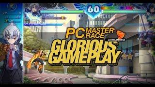 Glorious Gameplay - Arcana Heart 3 LOVE MAX!!!!! [Zenia Vs Saki]
