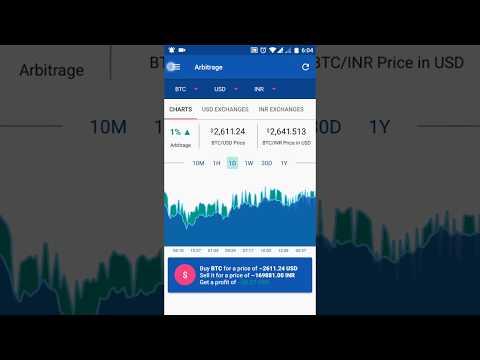 Bitcoin & Ethereum Price Arbitrage News & Alerts Tracker