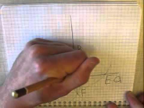 Как провести перпендикуляр в параллелограмме