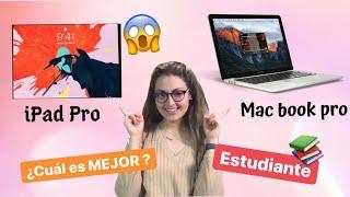 iPad Pro vs. MacBook📚😱 ¿Cuál el MEJOR para un ESTUDIANTE?