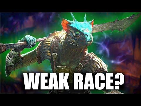Skyrim - Are Argonians WEAK? - Elder Scrolls Lore