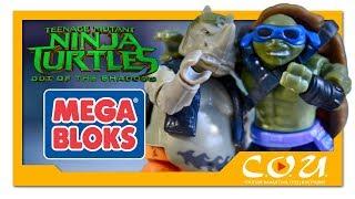 MEGA BLOKS Rocksteady Moto Attack | Teenage Mutant Ninja Turtles: Out of The Shadows