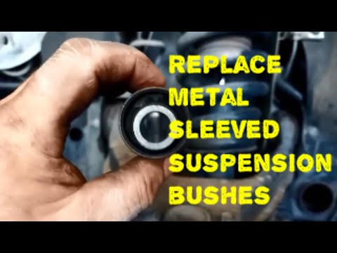 Metal Sleeved Suspension Bushes Replace Mitsubishi Triton Pajero Hilux How to DIY