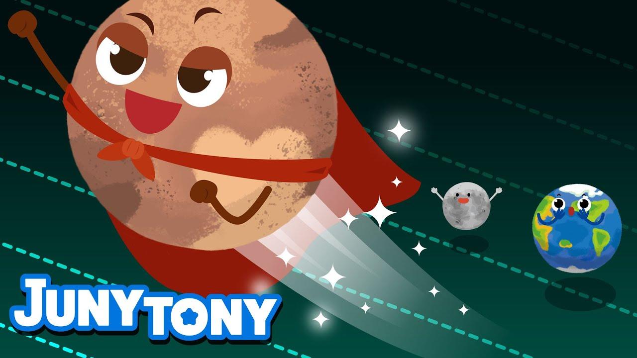 Plutón | Canción de Universo | Ya No Soy el Planeta del Sistema Solar | Juny Tony en español