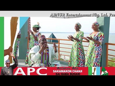 Ado gwanja x Adam A zango x Aminu Ala (SAKAMOKON CANJIN BUHARI) sabuwar wakar Manyan Mawaka sukayi thumbnail