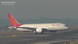 Air India 787-8 Dreamliner Inaugural Landing at Sydney Airport