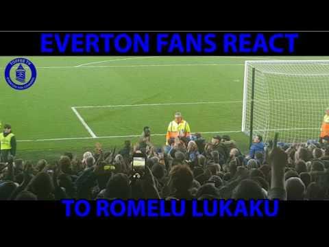 Everton Fans React To Romelu Lukaku