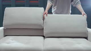 PUSHE. Обзор выкатных диванов «Бруно 130» и «Бруно 150»