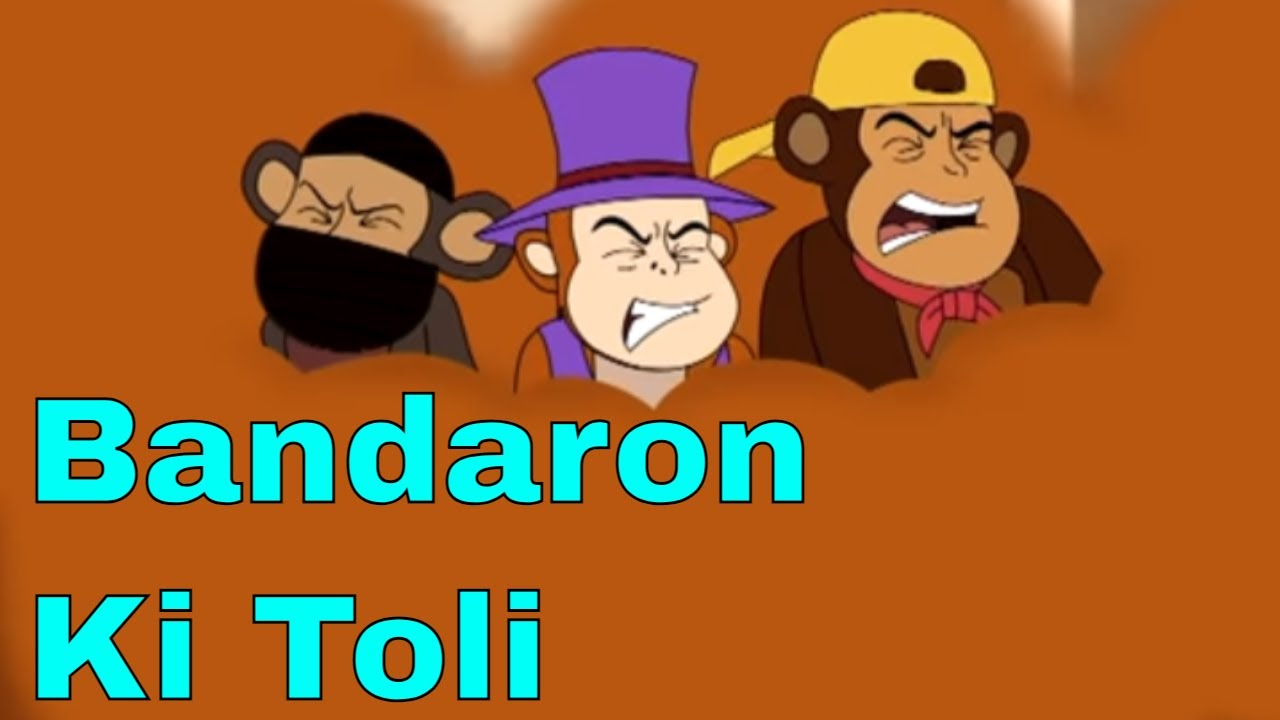 Chimpoo Simpoo - Episode 11   Bandaron Ki Toli   Funny Hindi Cartoon Series