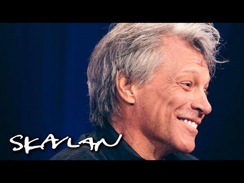 Jon Bon Jovi tells story about severed pig head   SVT/TV 2/Skavlan
