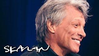 Jon Bon Jovi tells story about severed pig head | SVT/TV 2/Skavlan