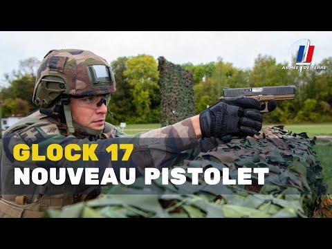 Le nouveau pistolet semi-automatique de l'armée de Terre : le GLOCK 17