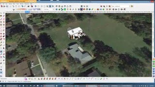 SketchUp Geolocation and Topography