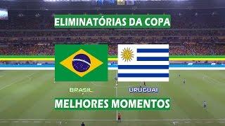 Brasil 2x2 Uruguai - Melhores Momentos - Eliminatórias da Copa 2018 (25/03/2016)