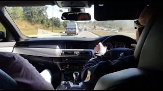 Speeding idiot in a BMW *Crash*