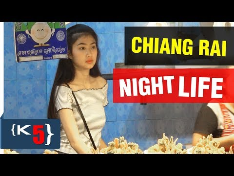 Chiang Rai Nightlife Tour, Night Bazaar, Night Market/Walking Street