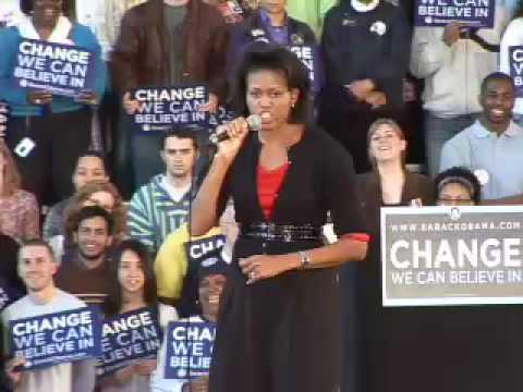Michelle Obama Visits Carnegie Mellon