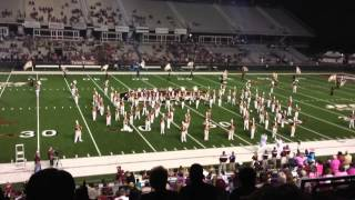 10/25/14 ULM Sound of Today performing Burlesque vs. Texas State