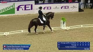 Daniel Bachmann Andersen og Blue Hors Don Olymbrio Grand Prix