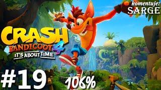 Zagrajmy w Crash Bandicoot 4: Najwyższy Czas (106%) odc. 19 - Niczym w starym filmie