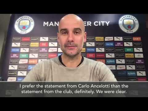 """""""I called Carlo personally"""" - Guardiola reveals details of postponement of Everton clash"""