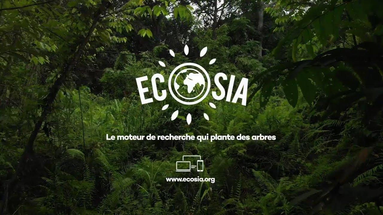 """Musique de la pub Ecosia.org """"le moteur de recherche qui plante des arbres""""  Mai 2021"""