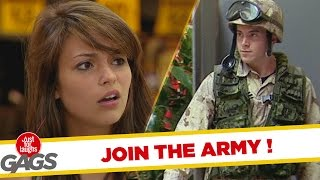 Baby Don't Join The Army!  Throwback Thursday