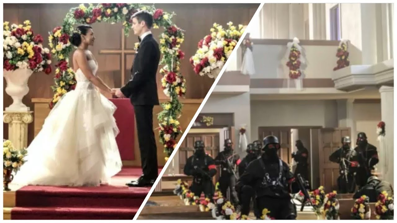 Crisis On Earth X)Photos(3#)First Look At The Wedding/Supergirl