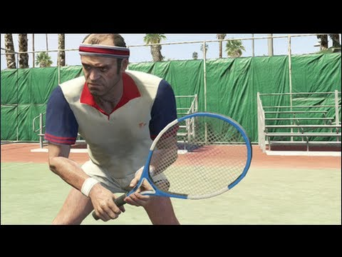 YOU CAN'T SEE ME IN TENNIS! GTA 5 [MADNESS]