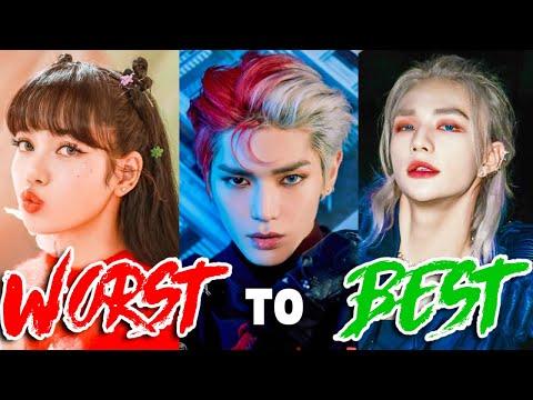 LEAST to BEST RAPS in KPOP of 2020 - Best Rap parts in kpop songs of 2020