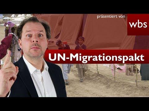 UN-Migrationspakt: Kommen jetzt wirklich mehr Flüchtlinge zu uns? | Rechtsanwalt Christian Solmecke