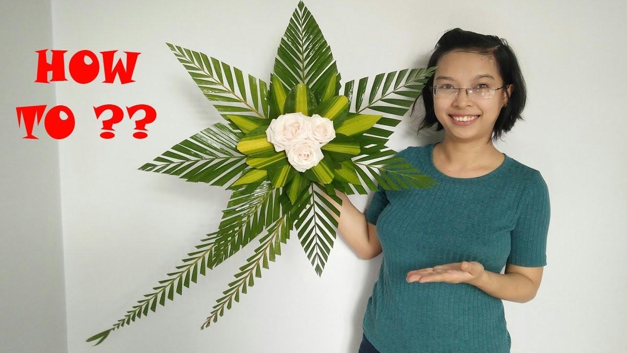 Cắm hoa bàn thờ tập 41 | THIÊN CHÚA 3 NGÔI | ROSE Flowers Tutorial