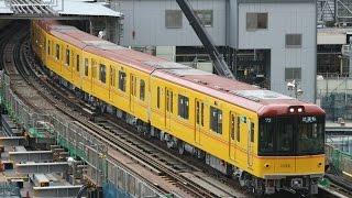 東京メトロ銀座線 1000系1138f 試運転