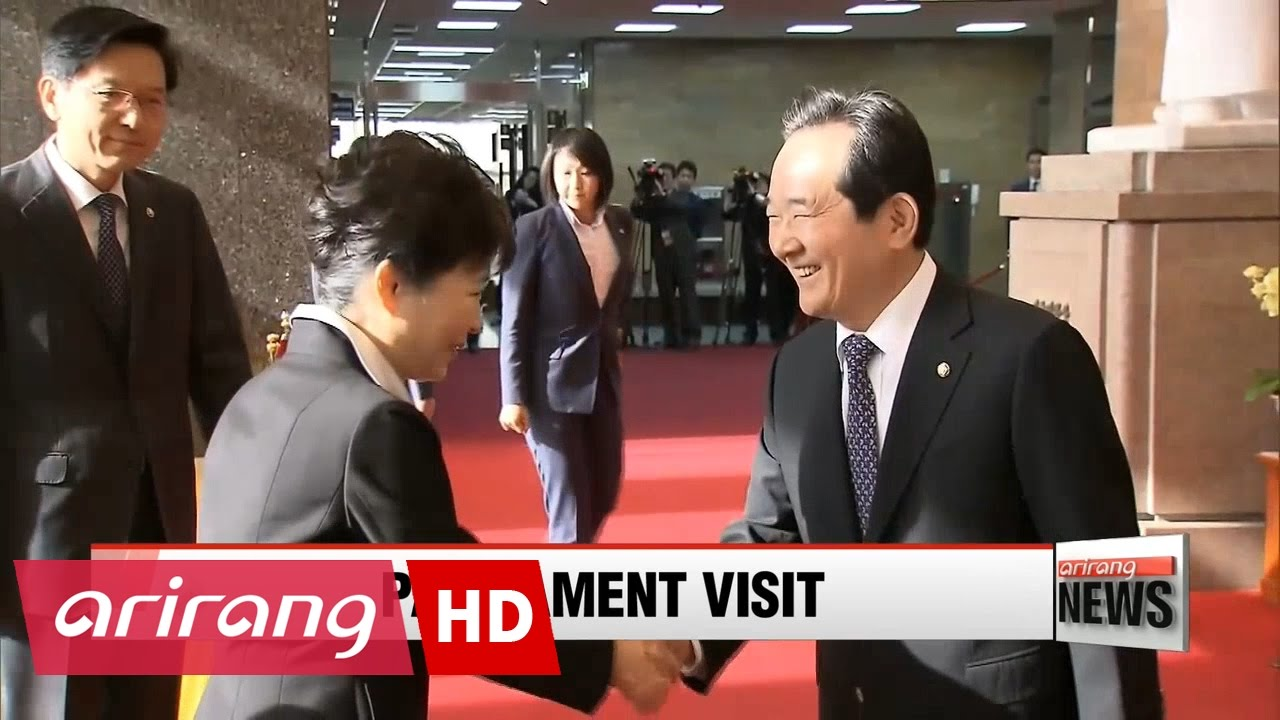 President Park to seek lawmakers' cooperation in placing new PM in post