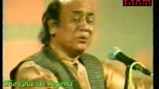 Mehdi Hassan live : Ranjish hi sahi, dil hi dukhanay kay liye aa.. (1/3)