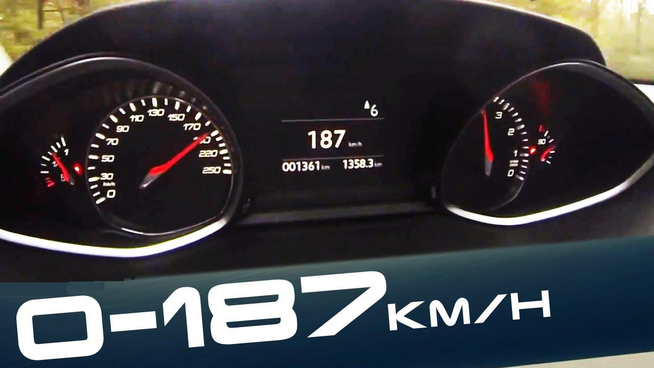 2015 new peugeot 308 1 6 thp nice 0 187 km h acceleration. Black Bedroom Furniture Sets. Home Design Ideas