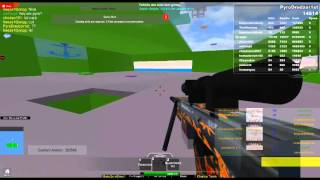 Roblox Base War gameplay G36 Antique,HK417-S Flame