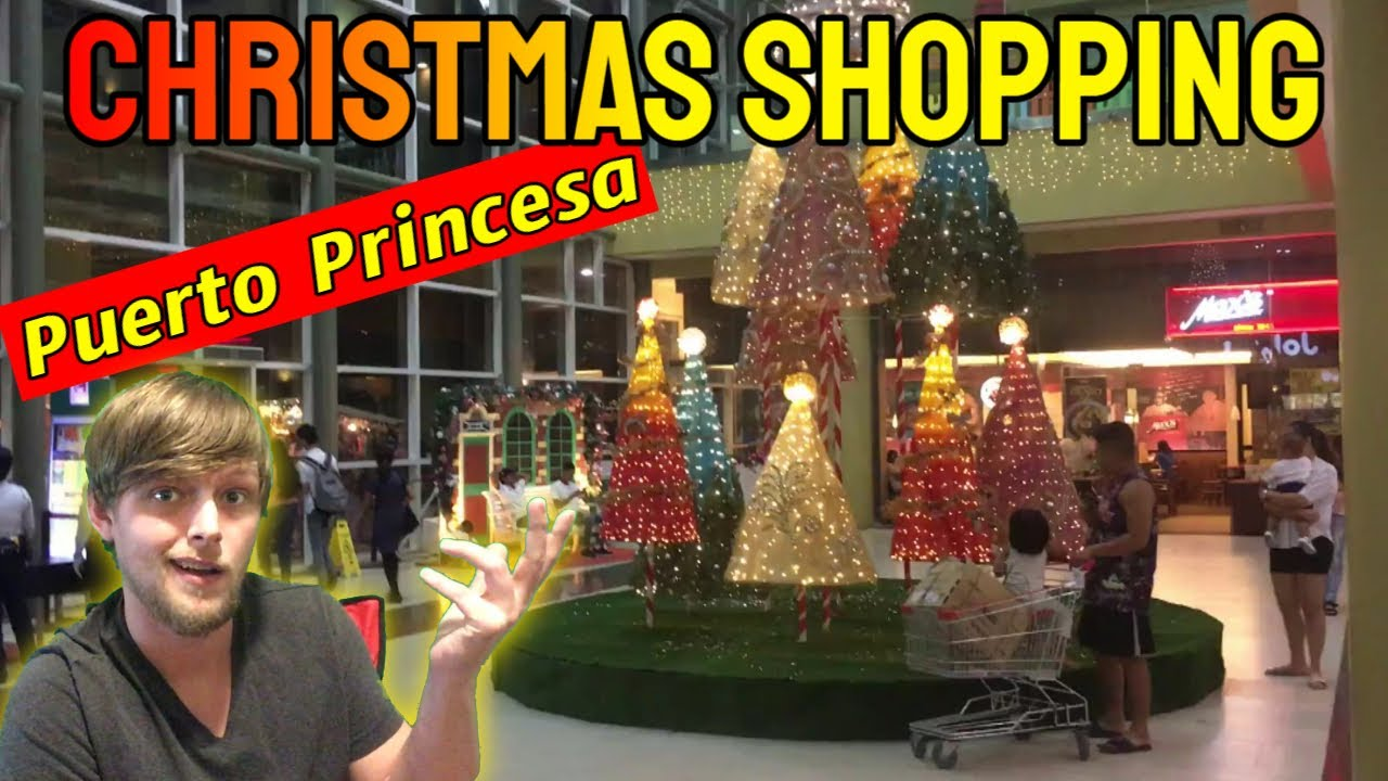 Robinsons Place Palawan Puerto Princesa Philippines Christmas Shopping Mall