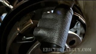 How To Replace a Wheel Cylinder -EricTheCarGuy thumbnail