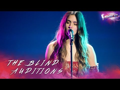 Blind Audition: Zoe Tsagalis sings Liability | The Voice Australia 2018