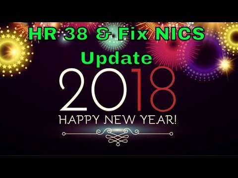 Update on HR 38 and Fix NICS