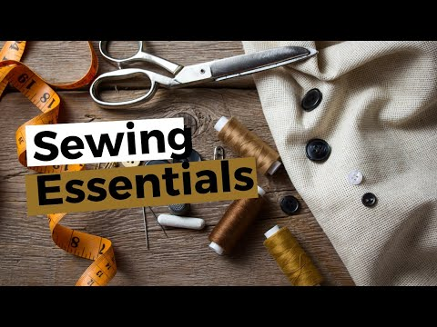 Learn To Sew - Sewing Tools And Equipment For Bag Makers