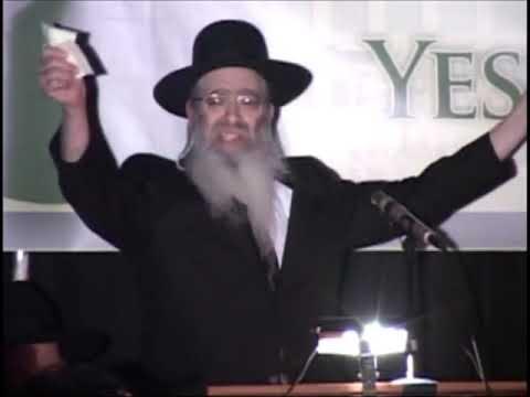 "Rabbi Dovid Trenk ztz""l gets up at a Yeshiva Darchei Torah Dinner honoring Rabbi Zevi Trenk shlit""a!"