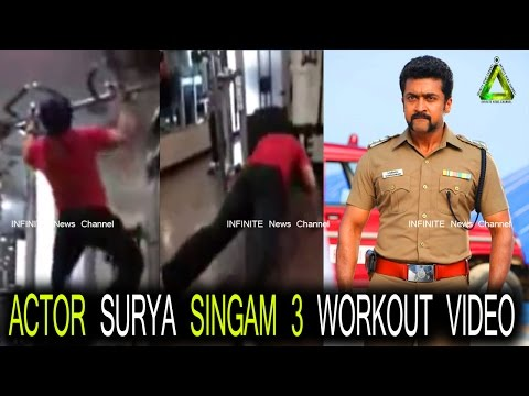 Actor Surya Singam 3 Workout Video |...