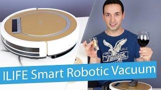 видео hybrid robot vacuum cleaner