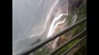 Cherrapunji water fall during july