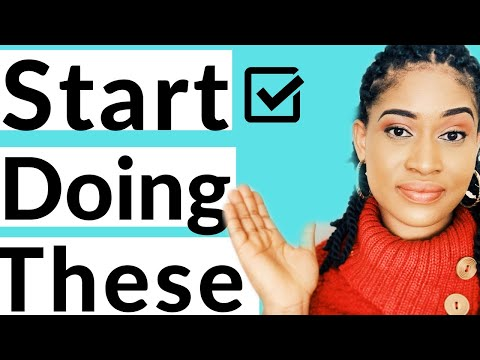 How to stop PROCRASTINATING and start taking ACTION with these actionable tips/Tips that work