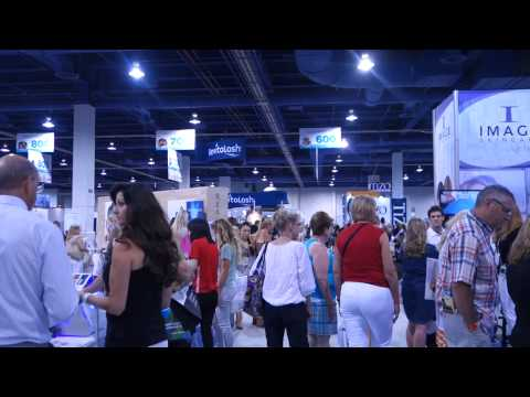 2014 Las Vegas Covention Center International Esthetic Cosmetics and Spa conference