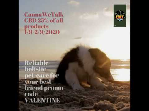 CannaWeTalk CBD 25% of all products 1/9-2/9/2020