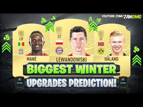 FIFA 20 | BIGGEST WINTER UPGRADES PREDICTION! 😱🔥 | FT. HÅLAND, LEWANDOWSKI, MANE...etc